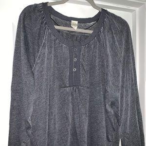 Free People boho shirt size M